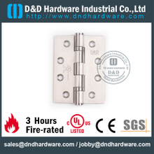 SS304 Two Ball Bearing Hinge for Wooden Door with UL Listed-DDSS433