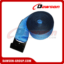 4 inch Custom Winch Strap with Flat Hook and Edge Protector
