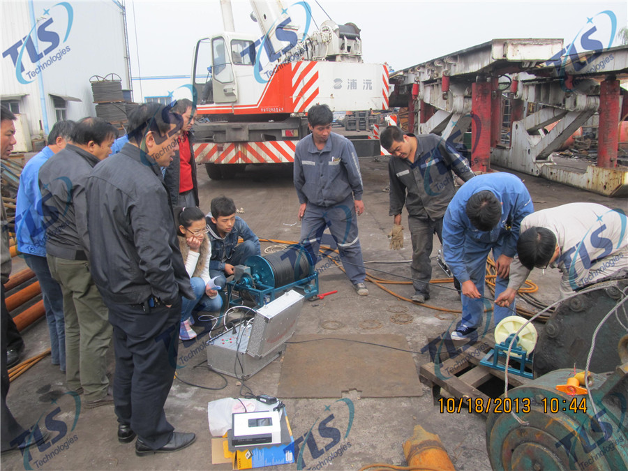 TLS Technologies Borehole Inspection Camera Application Case-Hongdong county coal mine well logging field-06