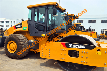 Customer order XCMG road roller from us