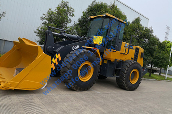 Customer order XCMG ZL50GN wheel loader from us