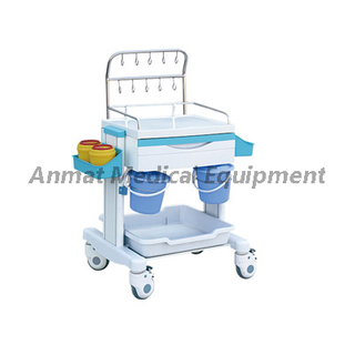 Medical Emergency Trolley equipment used for IV treatment cart