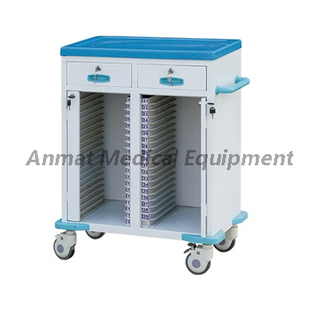 Double row 50 layers steel power coating case history cart
