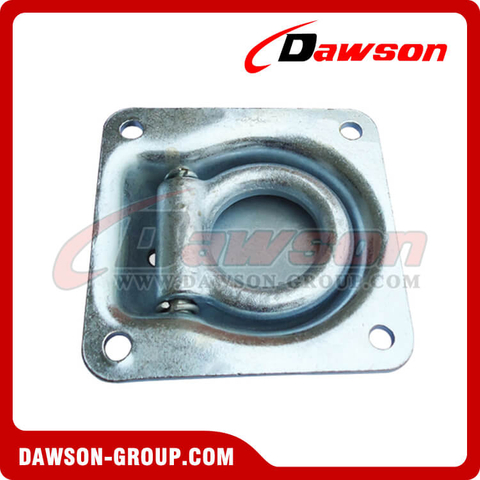 PPE-12 BS 2270kgs/5000lbs Hot Galvanizing Recessed Pan Fitting