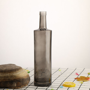 750ml Grey Sprayed Glass Bottle for Spirits