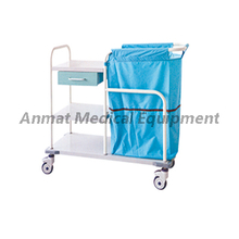 Laundry collecting cart for nusring treatment manufacturer in China