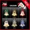 Custom Christmas Hanging Bell Shape Hanging Ornament