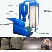 300-1000kg/h 9FQ Corn Straw Feed Grinding Hammer Mill Machine