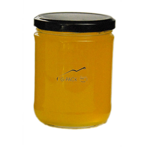 Glass Honey Jars with Lids