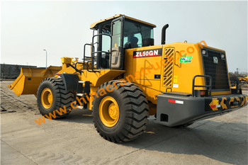 Customer order XCMG 5 ton wheel loader ZL50GN from us
