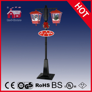 (LV188HS-RH) Classic Red and Black Christmas Decoration Light LED Street Lamp
