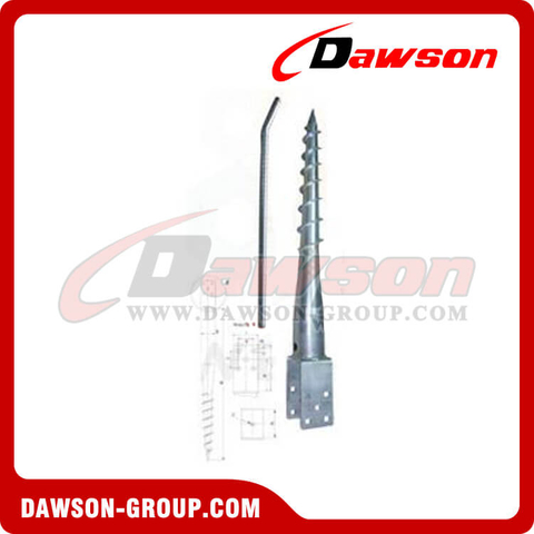 DS U91×865 Earth Auger U Ground Pile Series