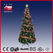 (T210R-G01) Revolving Lighting Christmas Tree