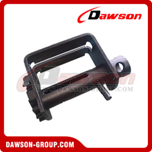 Double L Sliding Winch - Combination - Flatbed Truck Winches for Cargo Lashing Straps