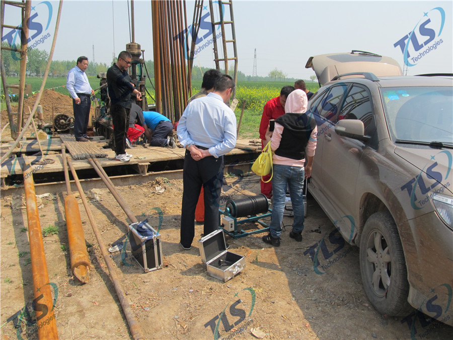 TLS Technologies Borehole Inspection Camera Application Case-Shandong Zhengyuan logging field-03