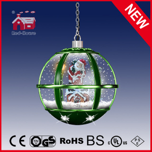 (LH30033A-GG11) Unique Christmas Crafts Hanging Lamp Chandelier with LED Light