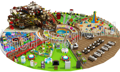 Mich Funny Indoor Amusement Playground 6640A
