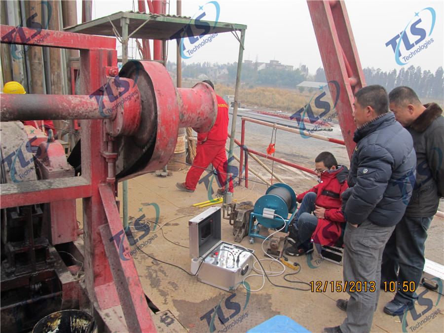 TLS Technologies Borehole Inspection Camera Application Case-Tongxiang Zhejiang logging field-05